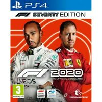 F1 2020 SEVENTY EDITION PLAYSTATION 4 PREORDER WITH STEELBOOK