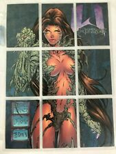 WitchBlade Collectible Card set P1-P9