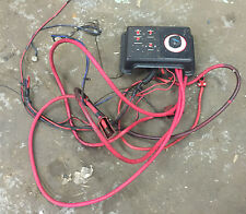 * Marine Boat Perko Battery Switch with Fuse Panel and power cables