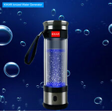 Portable Ionized Water Booster Bottle H3O Ion Electrolysis System Flask Pi Stick