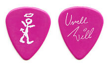 David Letterman Late Show Uncle Will Lee Signature Magenta Guitar Pick - 1989