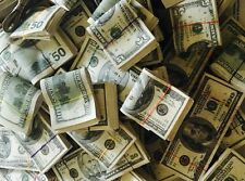150K Prop Money Stacks For Movies and Video