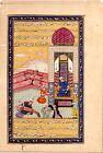 Persian Miniature Old Painting Handmade Persian Darbar Court Artwork On Paper