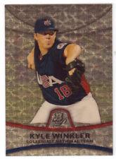 2010 Bowman Platinum Prospects Superfractors #PP49 Kyle Winkler Card 1/1