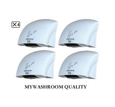 4 X Mywashroom Commercial Automatic Jet Hand Dryer 1800W (Factory Outlets)