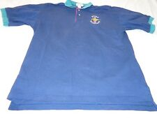 Vintage Crystal Springs Ford Mustang Men's Polo Shirt Size Large