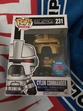 Funko Pop Nycc Exclusive Battlestar Galactica Cylon Commander #231