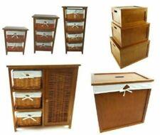 Mobili e pensili cassettiere marrone in legno per la casa