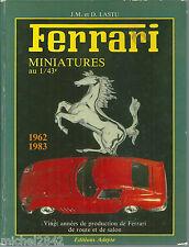 Ferrari miniatures au 1/43e modélisme