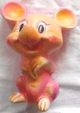 RUBBER TOYS VINTAGE PUPAZZO TOPOLINO TOPO MOUSE  ANNI ''60 MADE IN ITALY
