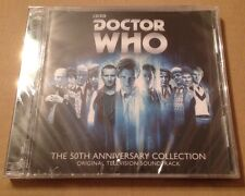 Doctor Who 50th Anniversary Collection USA 2 x CD Set SEALED