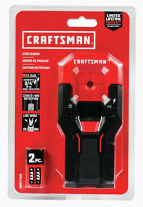 "Craftsman Metal And Wood Stud Finder Sensor Tool, 0.75"" Scan Depth, AC Detection"