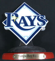 Tampa Bay Rays 2009 MLB Baseball NEW Logo Memory Company Desk Statue