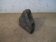 Old Steel Rope Pulley with 2 Wood Wheels