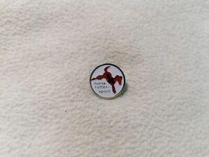 Tokyo 2020 - Norway Equestrian Federation pin model-2