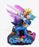 Banpresto Dragon Ball Super Master Stars Diorama ll Vegeta & Trunks The Brush ll