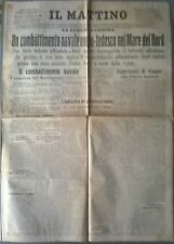LA GUERRA EUROPEA - UN COMBATTIMENTO NAVALE ANGLO-TEDESCO NEL MARE DEL NORD -532