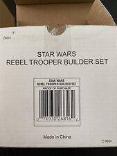 Star Wars Rebel Trooper Builder Set 4 Pack Action Figures