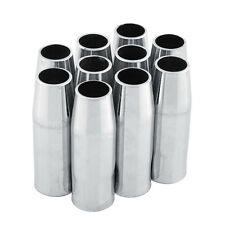 10 PCS MB-15AK MIG/MAG Welding Torch conical Gas Nozzle Shield Cup for abicor