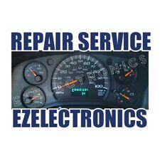 1999 TO 2002 CHEVY GM GMC S10 BLAZER TAHOE INSTRUMENT CLUSTER REPAIR SERVICE