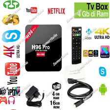 TV Box 4K HD H96 PRO Quad-core Android 7.1 DDR3 4G+16G WIFI Google Play 2018 NEW