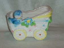 VINTAGE BABY CARRIAGE PLANTER BY PARMA PLANTER