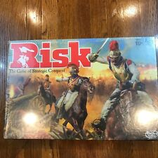 Hasbro Gaming Risk Board Game - The Game of Strategic Conquest AS IS