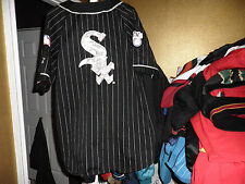 Vintage Chicago White Sox Throwback Baseball Pinstripe Starter Jersey Large