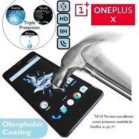 100% Cristal Templado Auténtico Calidad 9H LCD Protector para Pantalla OnePlus X
