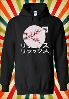 Cherry Blossom Japanese Flower Cute  Men Women Unisex Top Hoodie Sweatshirt 2451
