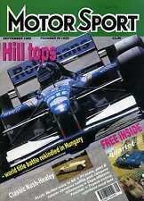 Motor Sport (Sep 1995) Jacques Laffite,Villeneuve, Celica, Nash Healey,German GP