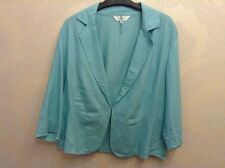 🌹 Marks & Spencer 🌹size 14 Bright Mint Ladies Lightweight Fitted Jacket Top