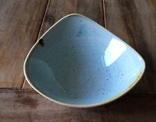 Churchill STONECAST Triangle Bowl Duck Egg Blue Schüssel Schale Porzellan 37 cl