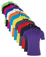 Pour Hommes Rapide Sec Athlétique Wicking Lisse Polyester Polo SPORTS Chemise