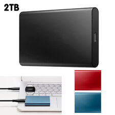 """2.5"""" Usb 3.0 2Tb External Solid State Drive Hard Drives Portable For Laptop Mac"""
