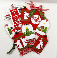 DIY Christmas Labels Metal Cutting Dies Stencil Scrapbooking Card Decor Craft