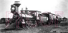 Denver & Rio Grande (D&RG) Engine 163 at Antonito in the 1900s - 8x10 Photo