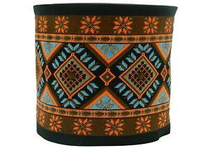 ~10m EMBROIDERED RIBBON TRIM*Aztek-Ethnic) 100mm (100996-V1)