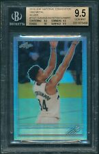 2019 Leaf National GIANNIS ANTETOKOUNMPO Silver Refractor BGS 9.5 Quad 9.5+[BBE]