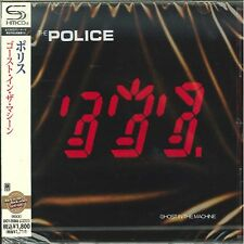 THE POLICE - GHOST IN THE MACHINE - JAPAN Jewel Case SHM - CD