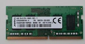 Kingston | 4GB | DDR4 | 2666MHz | SO-DIMM | 260 pin | Ram Module