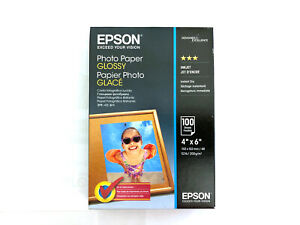 Epson Glossy 4x6 Photo Paper - 100 Sheets - C13S042548 - S042038