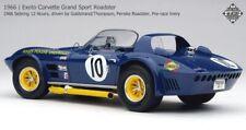 Exoto 1/18 Corvette Penske Roadster Pre-race livery 1966 Sebring 12 Hrs RLG18033