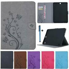 "Leather Wallet Case Cover For Samsung Galaxy Tab A S5e S2 8"" 9.7"" 10.1"" 10.5"""