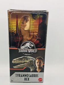 """TYRANNOSAURUS REX Jurassic World Park Dino Rivals T-Rex 6"""" Figure JW JP """"N"""""""