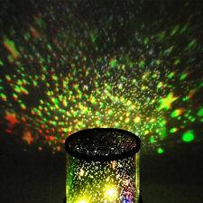 dormitorio infantil noche Estrellado Lámpara MASTER Proyector Cielo Luz LED