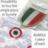 Scudetto patch, Coppa Italia patch, Juventus official Dekographics patch