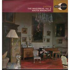 Nikita Magaloff / Frederic Chopin Lp Vinile The Mazurkas Vol 2 Nuovo