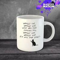 Smelly Cat  Funny Fun Coffee Ceramic Mugs Office Home Kitchen Tea Mug Funny
