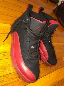Jordan 12 Retro Flu Game Size 8.5